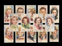 Cigarette cards Film Stars 1934 second series full set